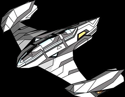 Atacante Harpia - Bombardeiro (Space Bomber)