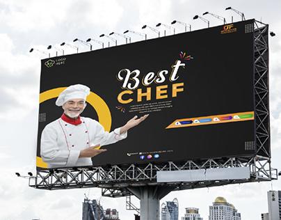 chef banner design