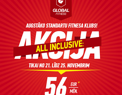 Global Fitness – All Inclusive