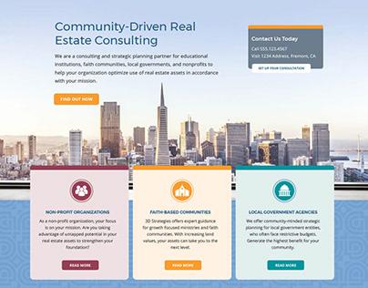 3D Strategies Homepage Refresh and Memorandum