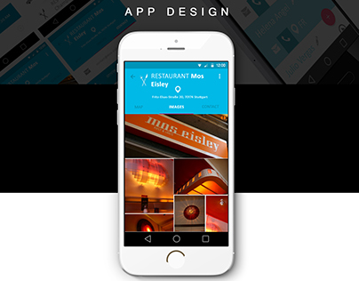 Tourist App Design
