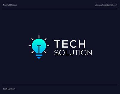 TECH SOLUTION - Logo Design