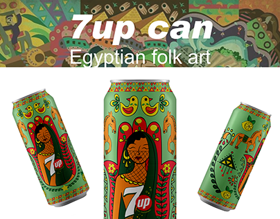 7up Egyptian Can