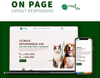 Landing Page - Vital Vet