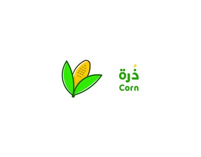 Corn logo design