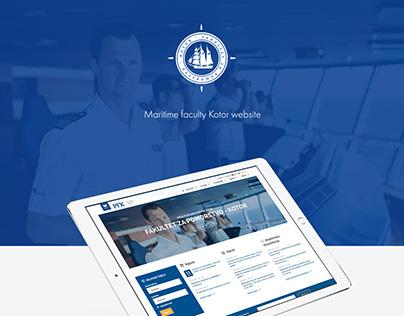 Maritime faculty Kotor