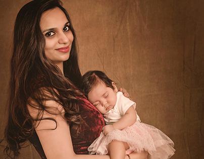 Newborn Portraits with Mom