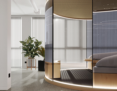 Interior design for Ricker Lyman Robotic office