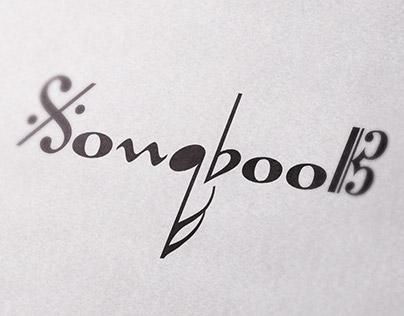 "Logo / CD cover for jazz trio ""SongBook"""