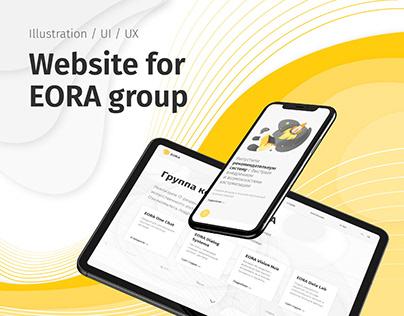 Website for EORA group 2019