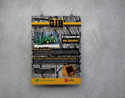 Affiches - DJB Équipements Miniers Inc.