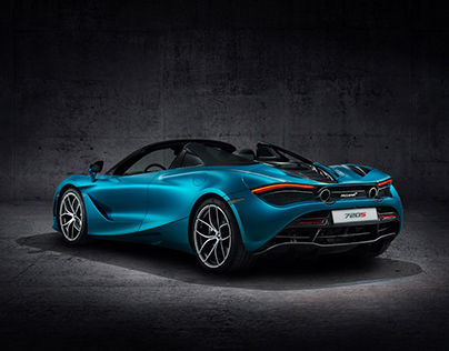 McLaren 720s Car Photography