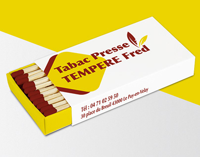 Business cards Tabac Presse Tempere