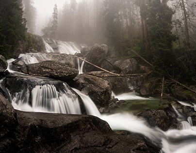 Slovak waterfalls