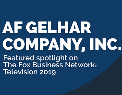AF Gelhar Fox Business Network Television Ad