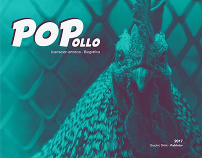 POPollo - Ilustración Digital.