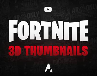 Fortnite Thumbnails On Behance