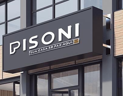 Pisoni - Logo, Identidade Visual e Slogan