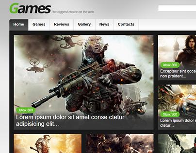 Games Joomla Template