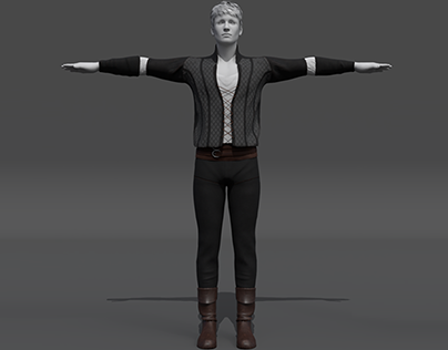 3D Character and Clothes