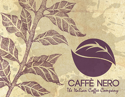 Caffè Nero themed packaging design project