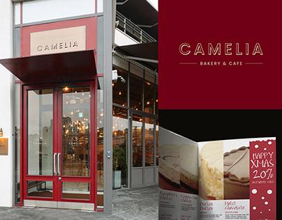 Camellia Bakery & Cafe Branding Design