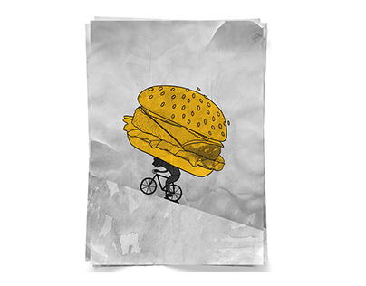 bike courier poster animation