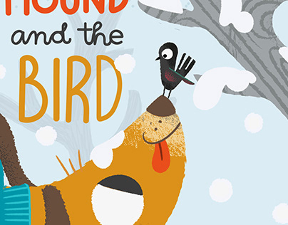 'The hound and the bird'. Book cover