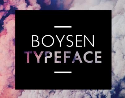 Boysen - Typeface