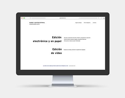 Diseño y gestión editorial – Joaquín Iborra