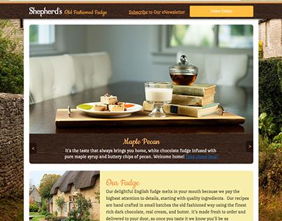 Shepherd's Fudge Website