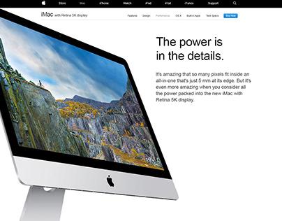 Apple Landing Page Study