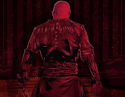 Ragnar Lothbrok Illustratıon (Poster)