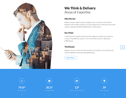 Landing Page Design By WordPress Website