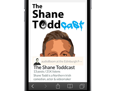 The Shane Toddcast - Podcast Graphics