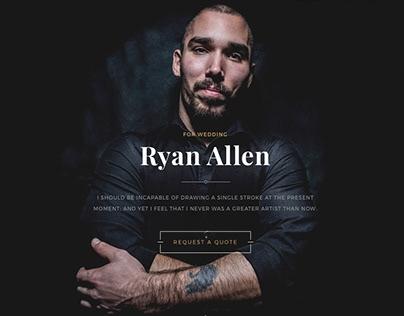 Ryan - template design for online builder