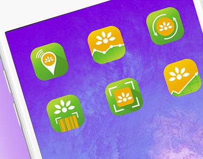 Metrolina App Icons