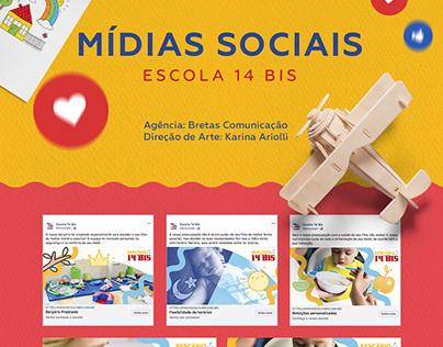 Mídias Sociais | Escola 14 BIS