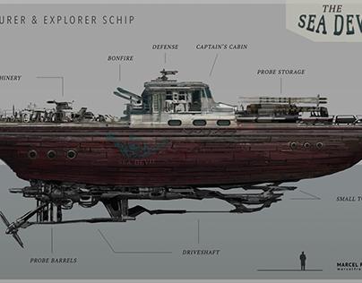 The Sea Devil - Adventurer & Explorer Ship