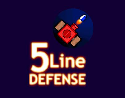 5 Line Defense (Graphics & Sounds)