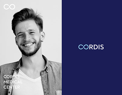 CORDIS | Medical center | Logo & Brand Identity