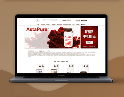 re-design existing website (shopping online)