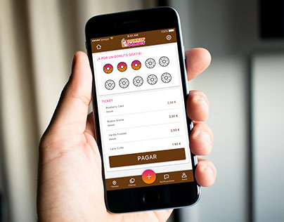 Payment Dunkin Donnuts - Concept