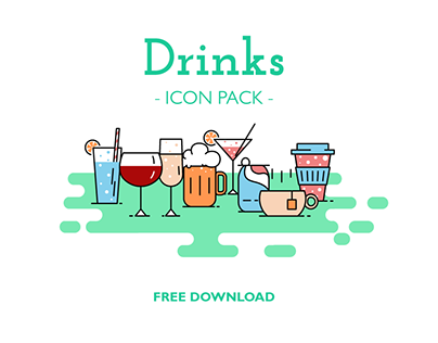 Drinks Free Icon Pack