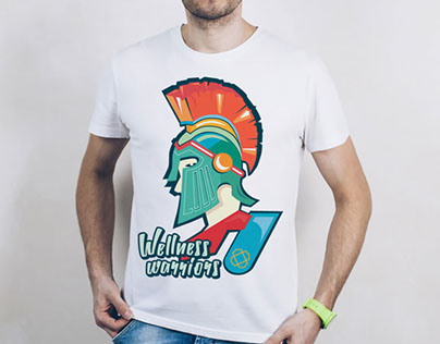 Spartan Marathon T-shirt Design (Corporate T-shirt)