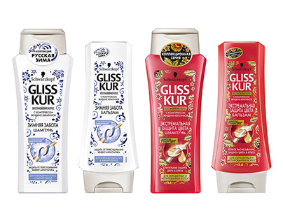 Package design. GlissKur LE