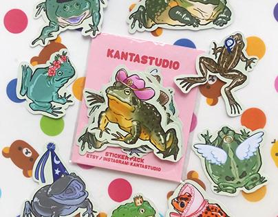 Kantastudio - Sticker designs