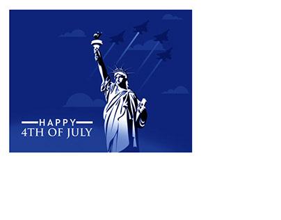 4th of July - Social Media Posts