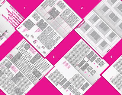 Typography / Разработка личного стиля в типографике