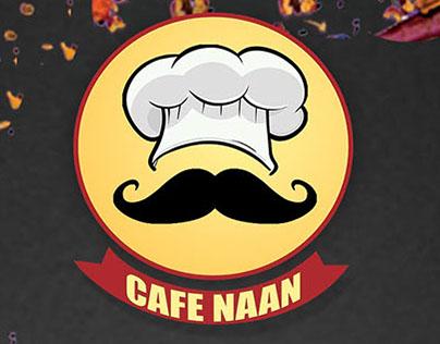 Menu Design for Cafe Naan